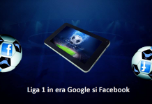 Liga 1 in era Google si Facebook